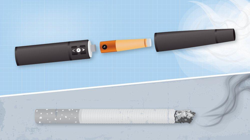 e-cigarette vs conventional